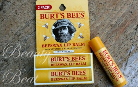 The Burt's Bees Beeswax Lip Balm is perfect for chapped lips in need of rescuing!
