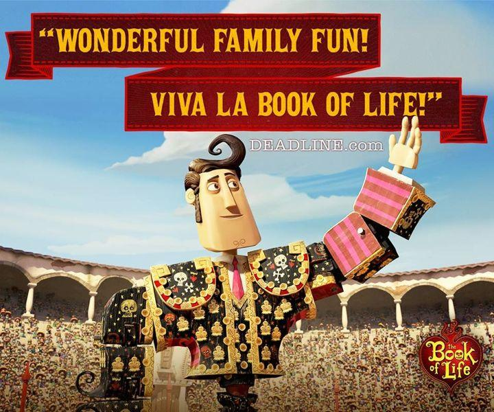 Manolo, the hero of the 2oth Century Fox movie 'Book of Life' playing now in regular and 3D at Kaʻahumanu 6.