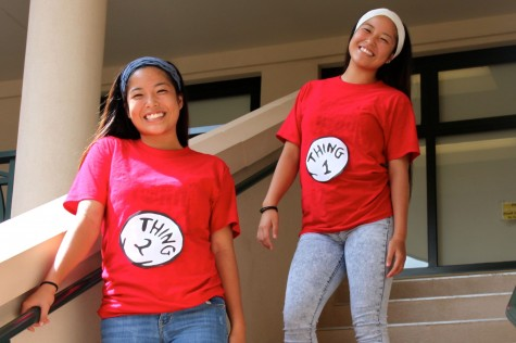 Thing 1 and Thing 2: Kayla and Lauren Kanemitsu