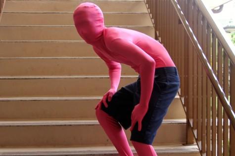Pink Skin Suit: Kaupena Morando
