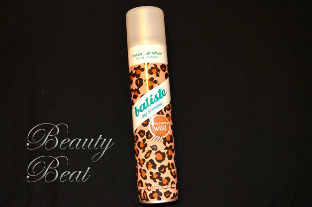 Batiste Dry Shampoo is a quick fix for oily hair.
