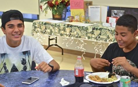 Freshmen get winter started with thankful banquet