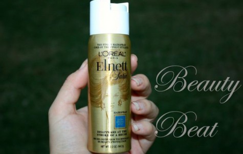 Beauty Beat: Elnett Satin hairspray