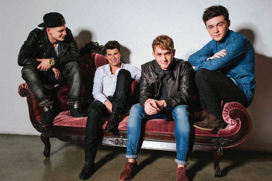 Rixton+is+a+four-member+boy+band+from+the+United+Kingdom.+From+left%3A+Lewi+Morgan%2C+Charley+Bagnall%2C+Danny+Wilkin%2C+Jake+Roche.+Their+first+album+drops+February+13%2C+just+in+time+for+Valentine%27s+Day%21