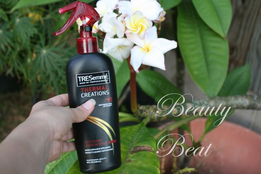 TRESemm%C3%A9+Thermal+Creations+Heat+Tamer+Leave-In+Spray+is+the+affordable+way+to+shield+your+hair+from+the+heat.
