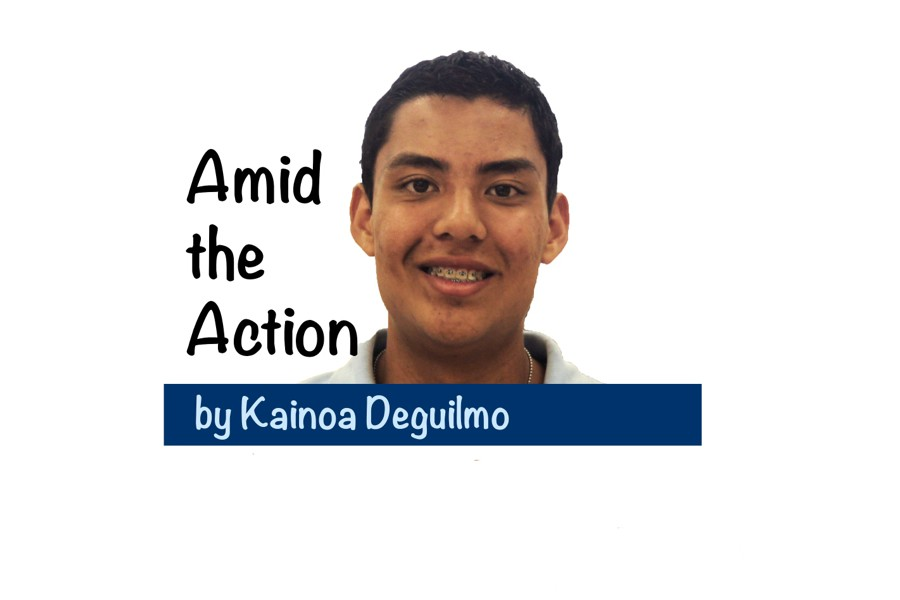 Amid the Action by Kainoa Deguilmo