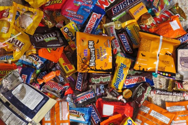 Trick-or-treaters all know that good candy is vital to a successful Halloween. 'Sweets, sweets, and more sweets' is their motto. Sometimes, their neighbors disagree.