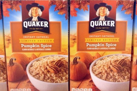 This is not breakfast time, kids want chocolate for the morning after Halloween, not oatmeal, even if it is pumpkin spice flavored!