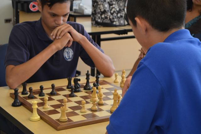 Kamalu+Segundo+%28left%29+said+he+knew+a+little+about+chess+prior+to+entering+the+fall+tournament+going+on+now+in+Mr.+Rickard%27s+room.