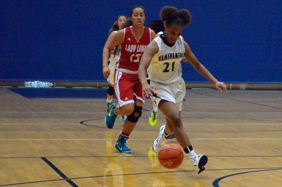 Kimani Fernandez-Roy played girls jv basketball during the winter 2014-2015 school year.
