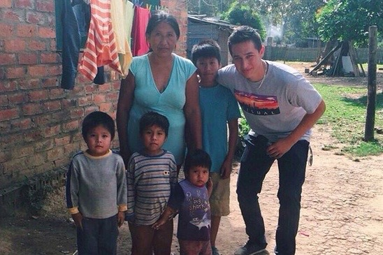 For his senior project, Keola Paredes took donated soccer cleats from Maui to Bolivia, where kids there can borrow them from a soccer academy he plans to start up with his uncle, who's a former professional soccer player. With his leadership skills, why isn't Paredes in the Business and Leadership Academy?