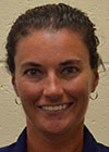 Coach Erin Harkleroad, KSM athletic trainer