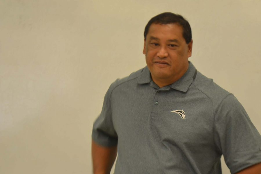 Coach Jon Viela is the new Athletic Director at Kamehameha Schools Maui.