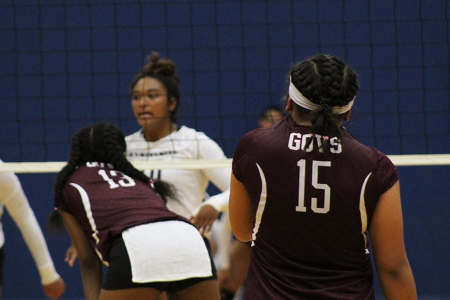 Lady Governors win, 3-0, against Maui Warriors on Oct. 24.