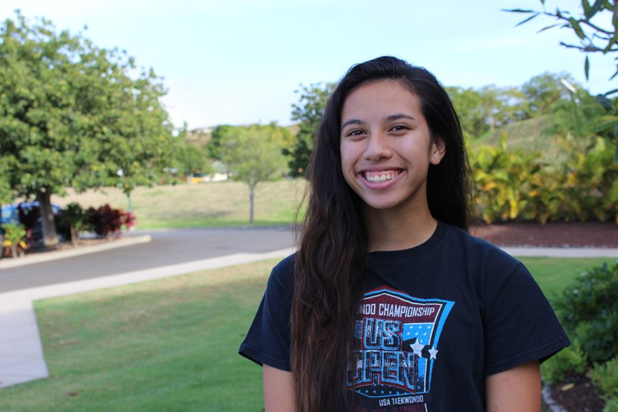 Jasmine Casey shares that she is grateful for Pauahi.
