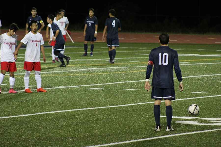 On Senior Night, the Warriors soccer team tied with the Lunas, 0-0.