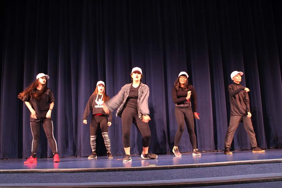 The senior KBDC dance crew had great choreography and danced with lots of spirit.