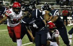 Football: Lunas finish perfect round with win over Warriors