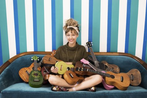 Singer and ʻukulele player Grace VanderWaal. Her next album, ʻJust The Beginning,ʻ is expected to drop Nov. 3.