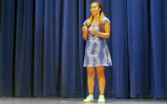 Bega wins 3rd annual Poetry Out Loud contest