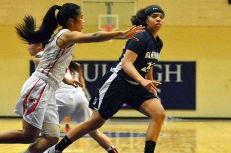 Mililani squeaks past Warriors in girls basketball