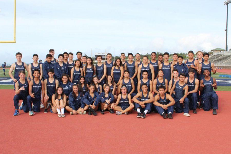 Track & Field 2017-2018 team.