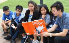 Student government celebrates reading on Dr. Seuss Day