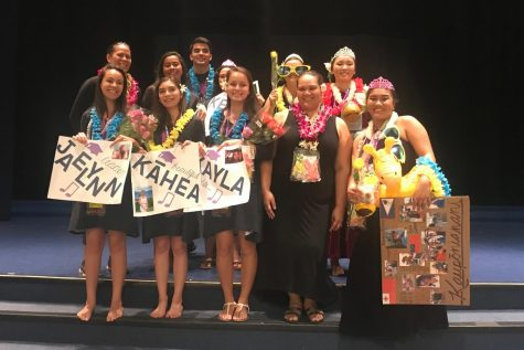 Hawaiian Ensemble and KPHOA seniors celebrate and commence their work done through the years.