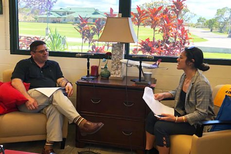 Headmaster Dr. Scott Parker opens his doors to alumna ʻEleu Novikoff and finishes the inaugural year of the Hikina Rising podcast series with his story.