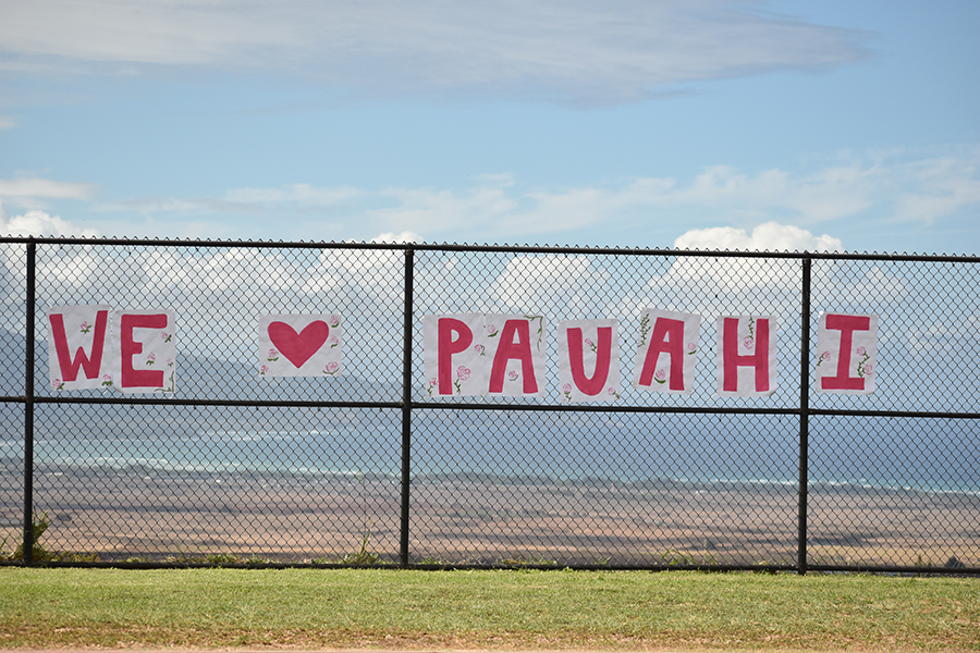 A sign for Pauahi