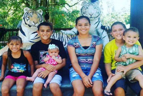 "Tahan Valdez celebrates her ""3rd"" birthday with her family at Panaʻewa Rainforest Zoo on the Big Island. Born on a leap day, her true birth date comes around only once every four years."