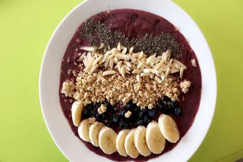 Snap a picture of your favorite meal! Junior Arianna Rios made an açaí bowl for lunch.