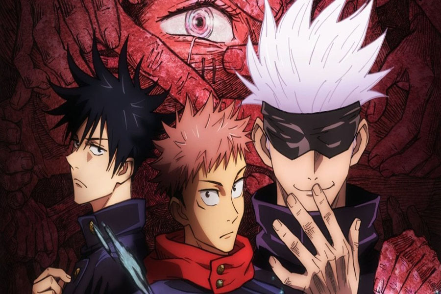 Jujutsu Kaisen is a Japanese manga series written and illustrated by Gege Akutami, serialized in the Weekly Shonen Jump since March 2018.