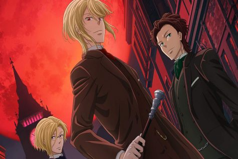 "Brothers Louis James Moriarty, William James Moriarty and Albert James Moriarty in the fall 2020 anime, ""Yuukoku no Moriarty,"" also known as ""Moriarty the Patriot."""